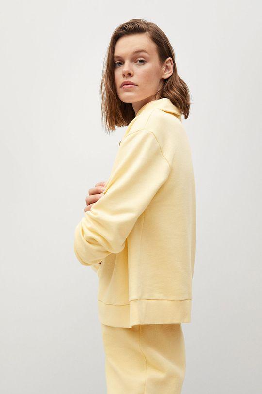 žltá Mango - Mikina CELIA