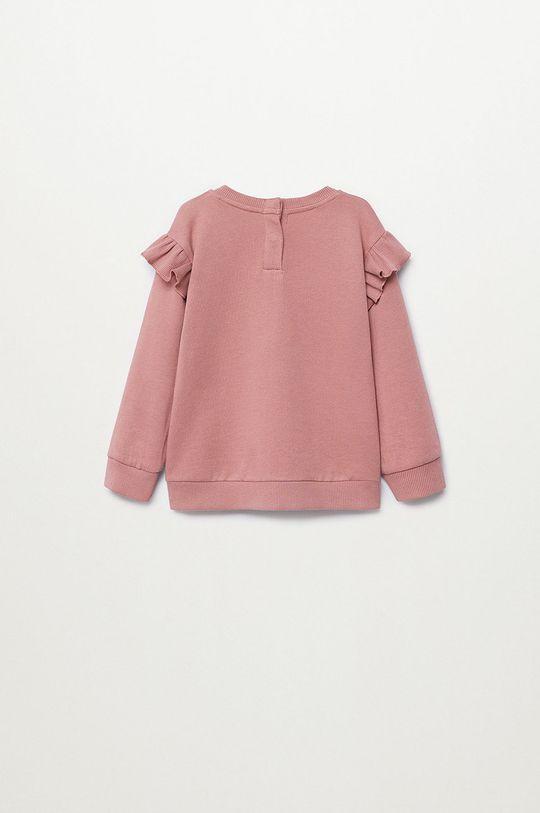 Mango Kids - Bluza copii MARTA roz