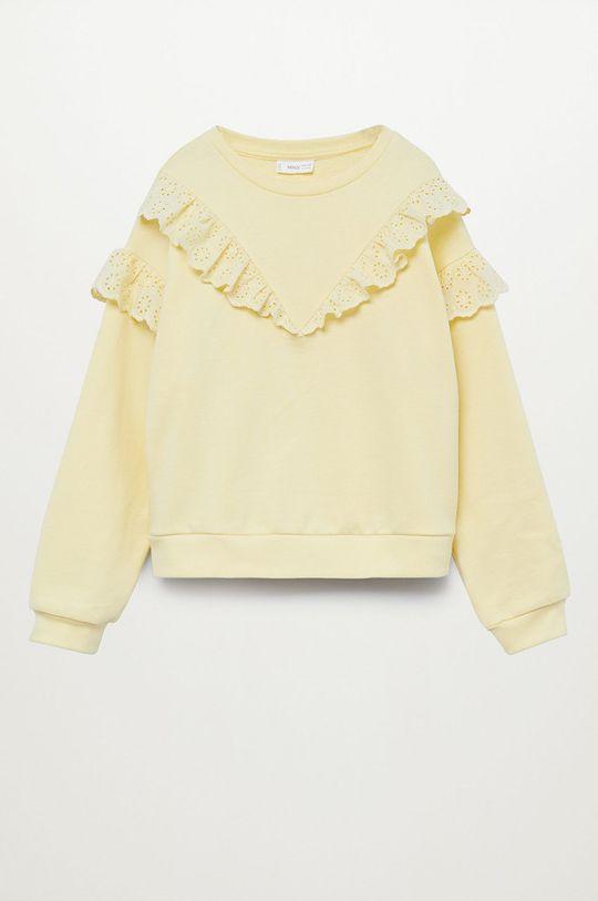 žlutá Mango Kids - Dětská mikina SELMA Dívčí