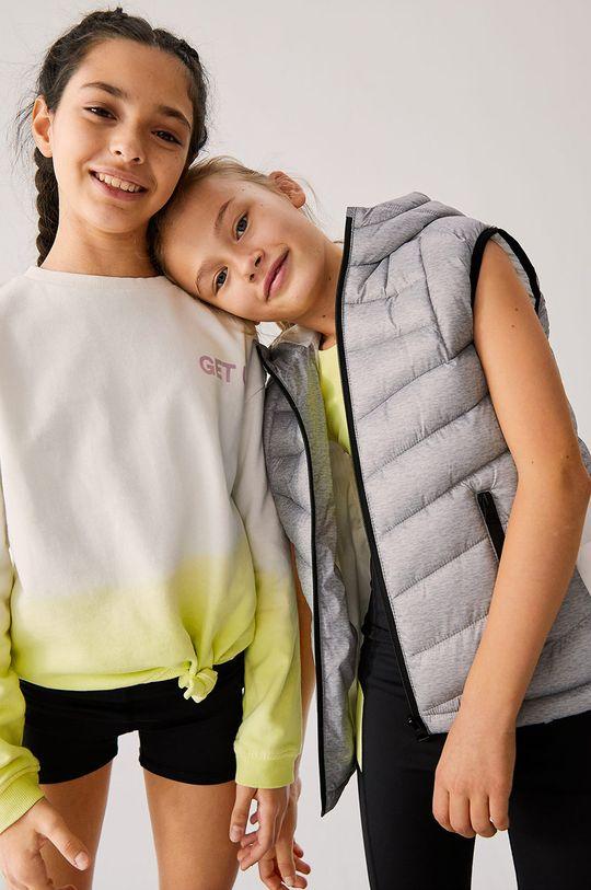 Mango Kids - Detská bavlnená mikina Extreme-I 128-164 cm  100% Organická bavlna