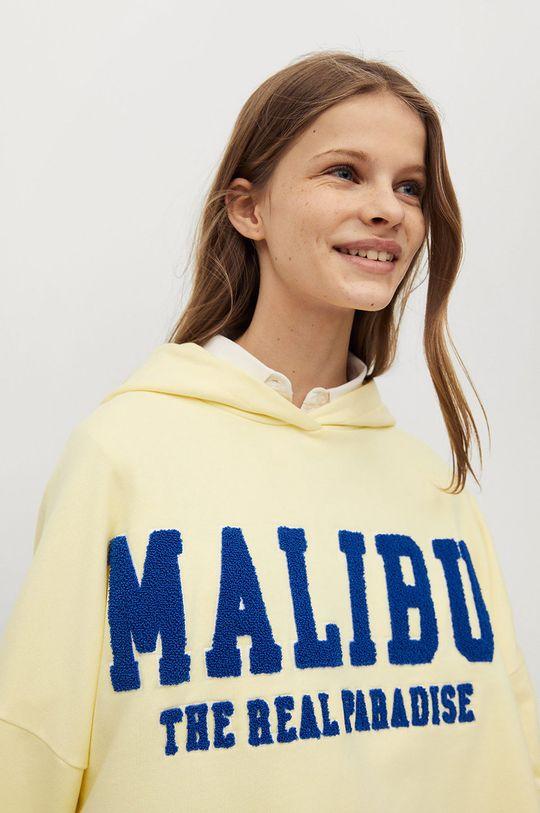 Mango Kids - Bluza dziecięca MALIBU 100 % Bawełna