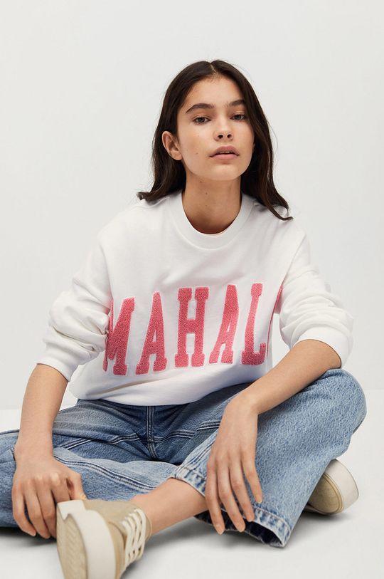 biały Mango Kids - Bluza bawełniana dziecięca Hawai