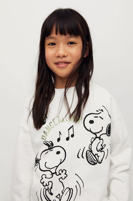 Mango Kids - Dětská bavlněná mikina Helmut-I 116-164 cm  100% Organická bavlna