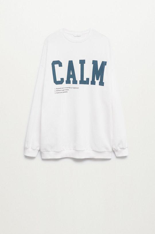 Mango Kids - Bluza bawełniana dziecięca Calm