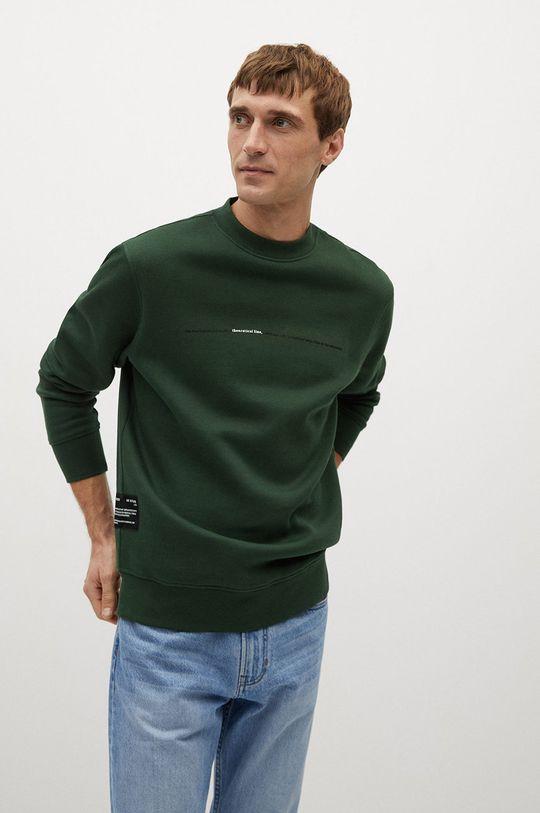 verde Mango Man - Bluza HORIZON De bărbați