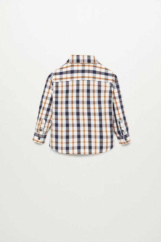 Mango Kids - Koszula bawełniana dziecięca CHECKS8