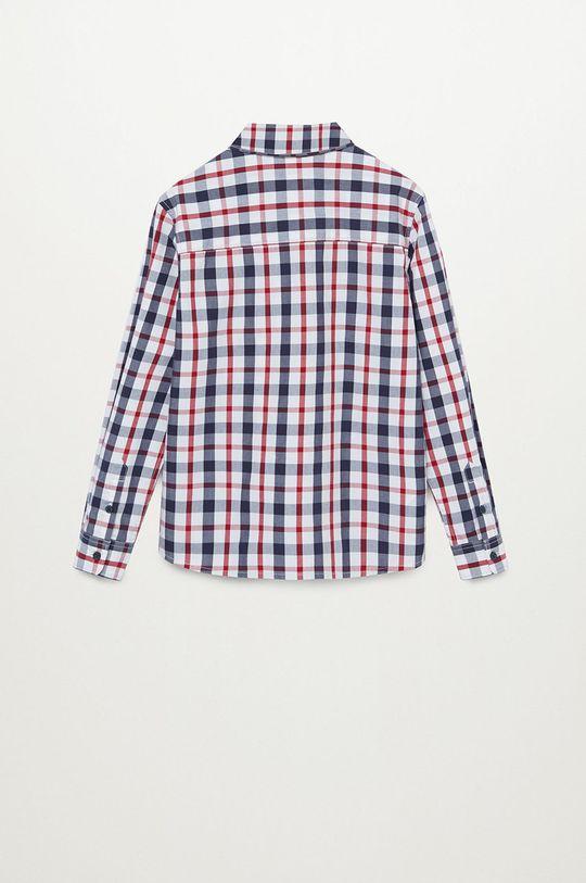 Mango Kids - Koszula dziecięca CHECKS8 100 % Bawełna