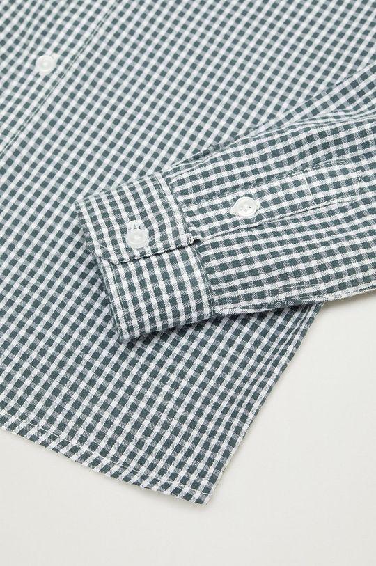 jasny szary Mango Kids - Koszula bawełniana dziecięca Matcha 110-164 cm