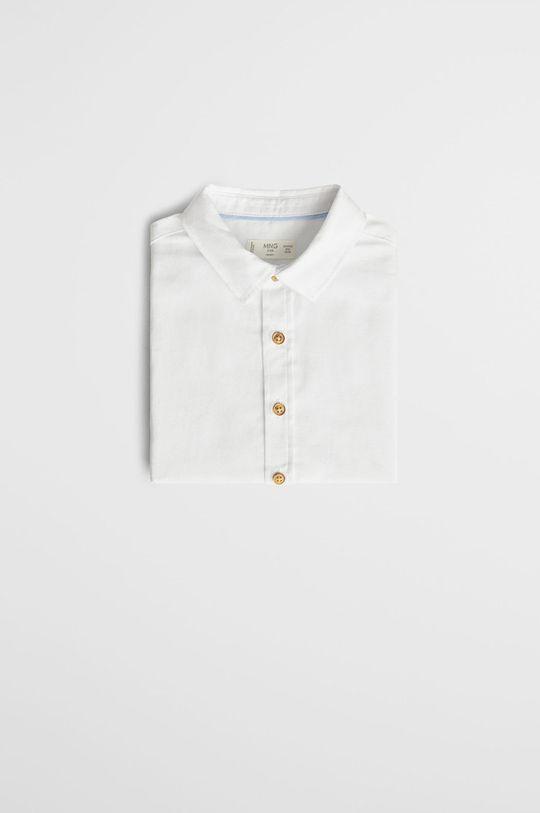 Mango Kids - Koszula dziecięca OXFORD7 100 % Bawełna