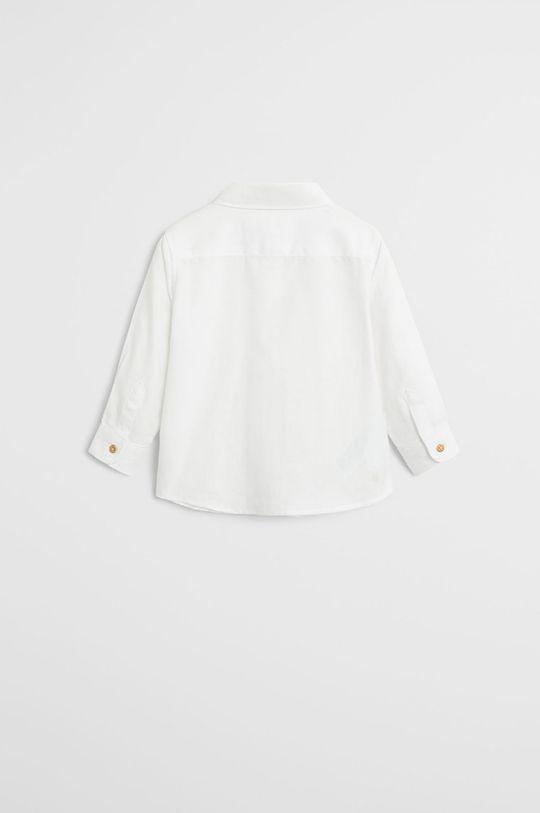 biały Mango Kids - Koszula dziecięca OXFORD7