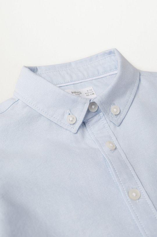 Mango Kids - Koszula dziecięca OXFORD 100 % Bawełna