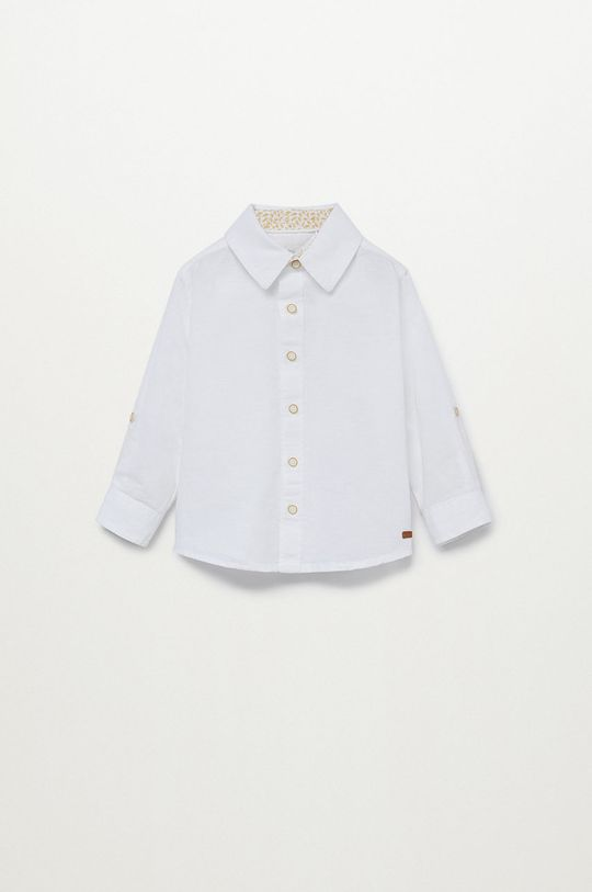 biela Mango Kids - Detská košeľa ABETO Chlapčenský