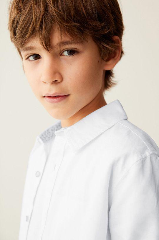 Mango Kids - Koszula dziecięca ABETO biały