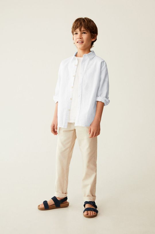 biały Mango Kids - Koszula dziecięca ABETO