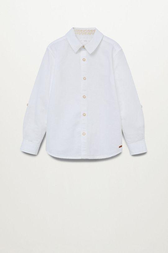 Mango Kids - Koszula dziecięca ABETO Chłopięcy