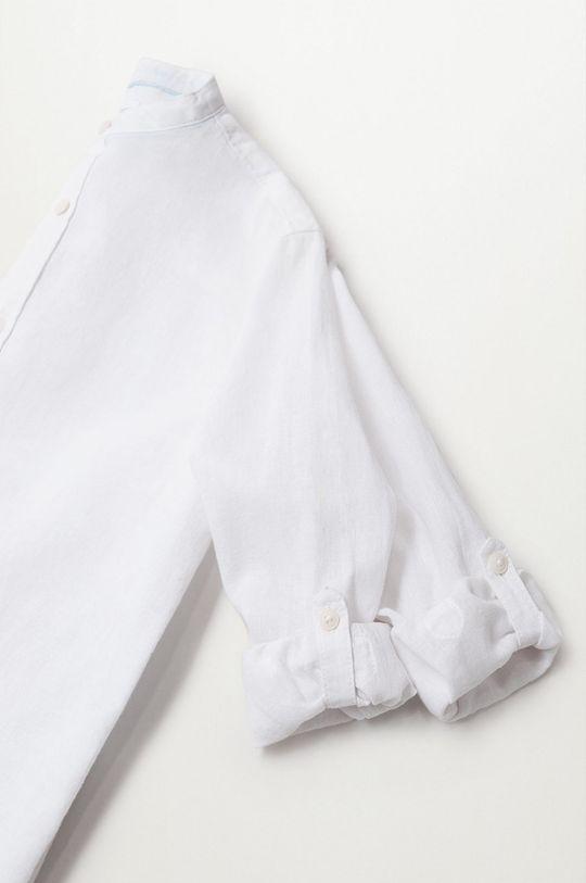 Mango Kids - Koszula dziecięca Albert 110-164 cm biały