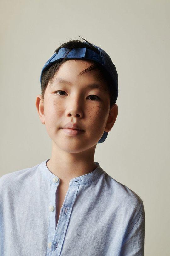 blady niebieski Mango Kids - Koszula dziecięca Albert 110-164 cm