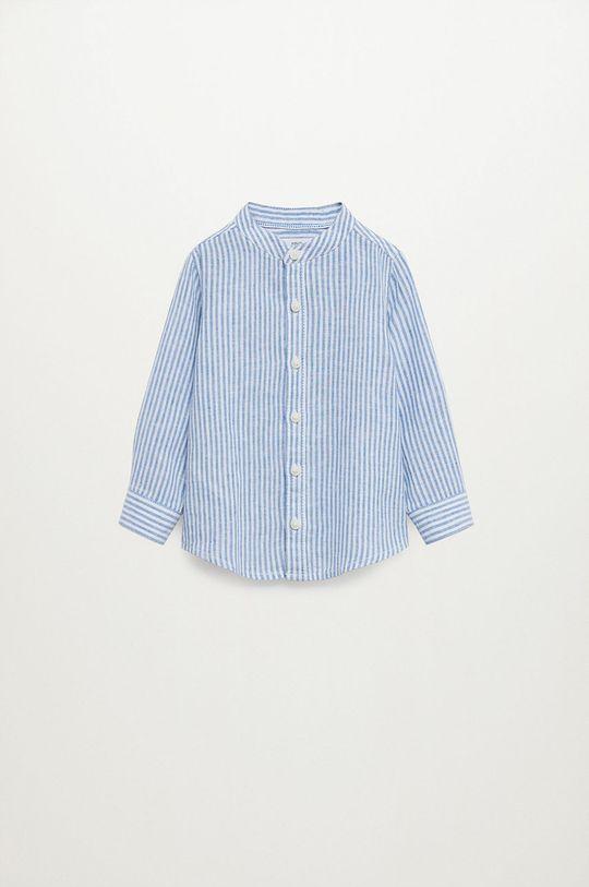 niebieski Mango Kids - Koszula dziecięca Formb 80-104 cm Chłopięcy