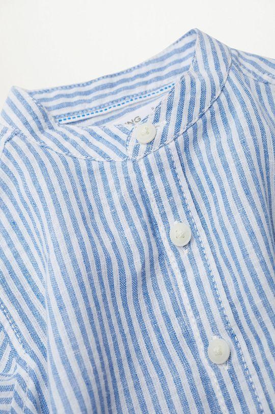 Mango Kids - Koszula dziecięca Formb 80-104 cm niebieski