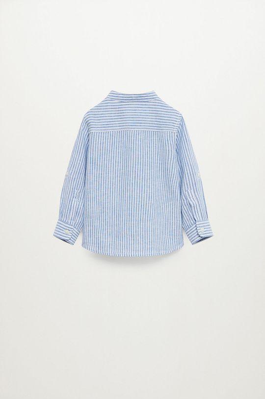 Mango Kids - Koszula dziecięca Formb 80-104 cm 45 % Bawełna, 55 % Len