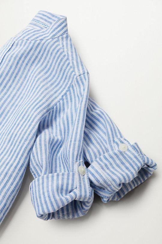 niebieski Mango Kids - Koszula dziecięca Formb 80-104 cm