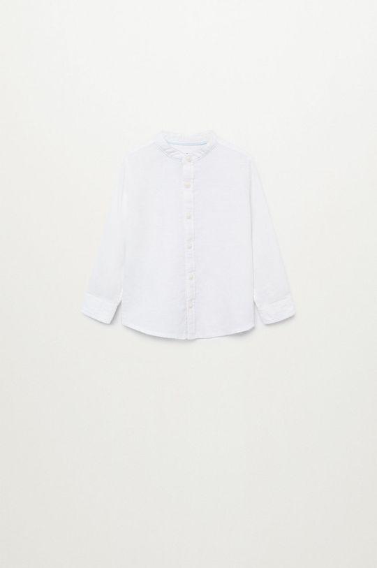 biały Mango Kids - Koszula dziecięca Albertb 80-104 cm Chłopięcy
