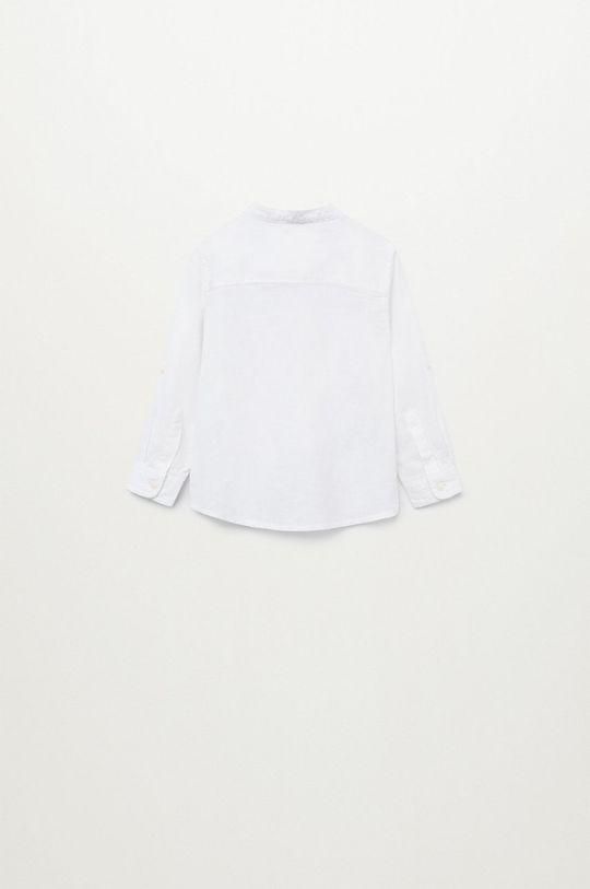 Mango Kids - Koszula dziecięca Albertb 80-104 cm 45 % Bawełna, 55 % Len