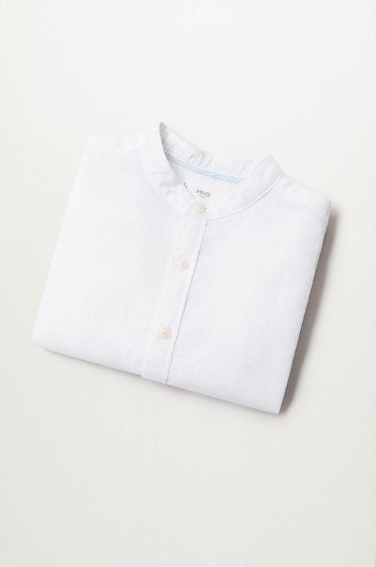 biały Mango Kids - Koszula dziecięca Albertb 80-104 cm