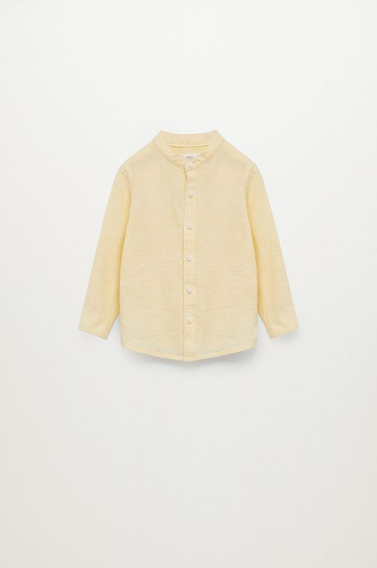 Mango Kids - Koszula dziecięca Alberto-I 80-104 cm Chłopięcy