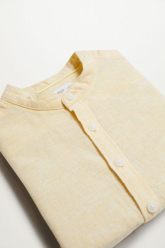 Mango Kids - Koszula dziecięca Alberto-I 80-104 cm