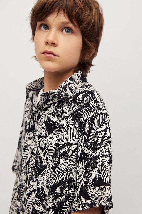 Mango Kids - Detská košeľa Palmon 110-164 cm  100% Viskóza