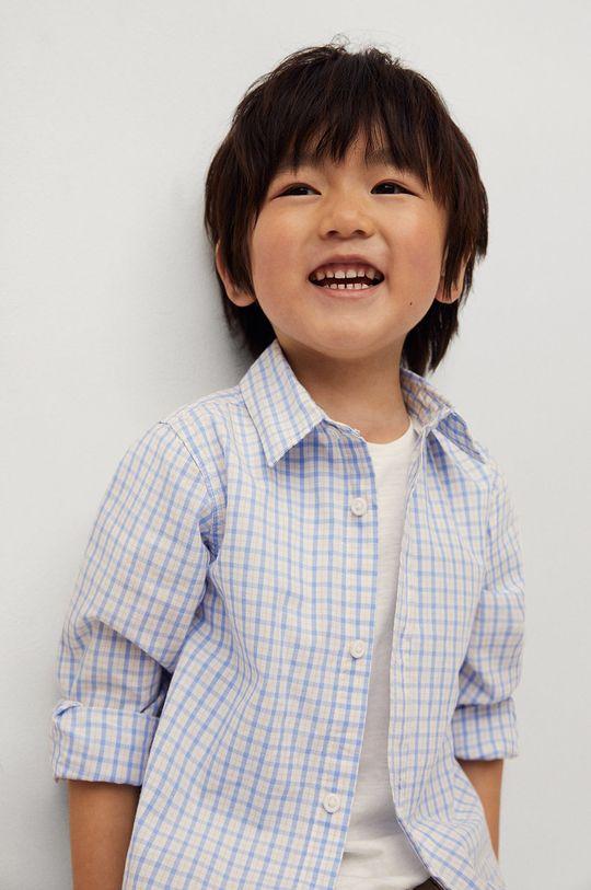 Mango Kids - Koszula bawełniana dziecięca Cedricb 80-104 cm 100 % Bawełna