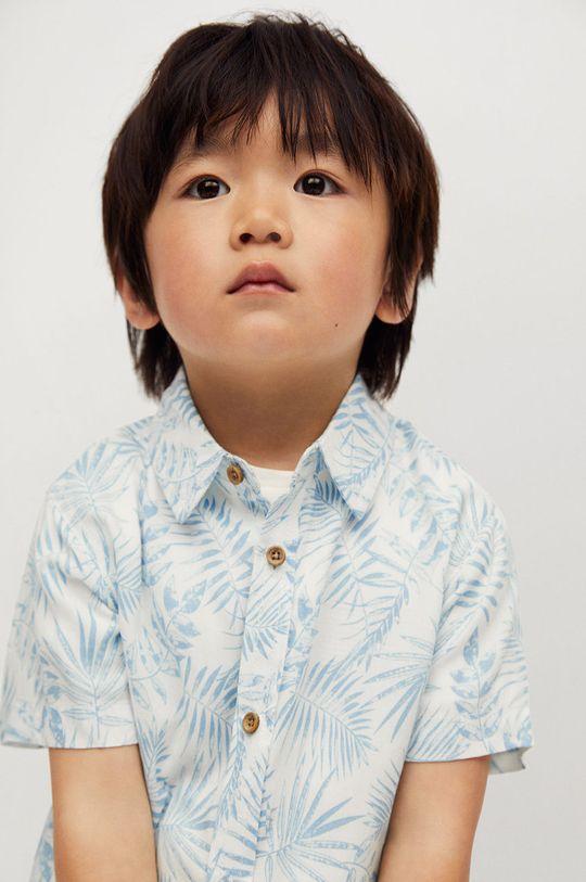 Mango Kids - Detská košeľa Islab 80-104 cm  100% Viskóza