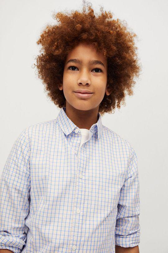 Mango Kids - Koszula bawełniana dziecięca Cedric 110-164 cm 100 % Bawełna
