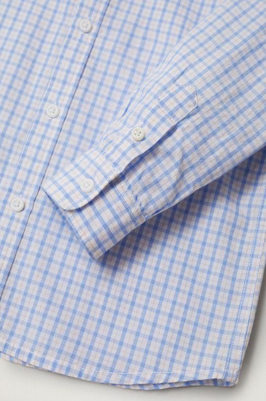 biały Mango Kids - Koszula bawełniana dziecięca Cedric 110-164 cm