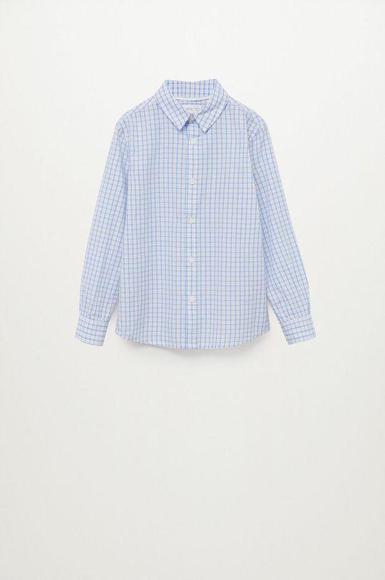 Mango Kids - Koszula bawełniana dziecięca Cedric 110-164 cm