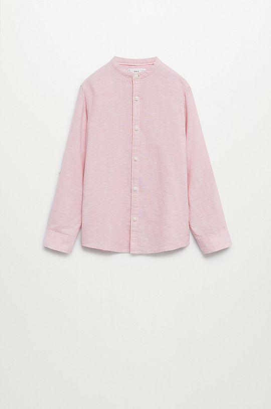 Mango Kids - Koszula dziecięca Alberto-I 110-164 cm Chłopięcy