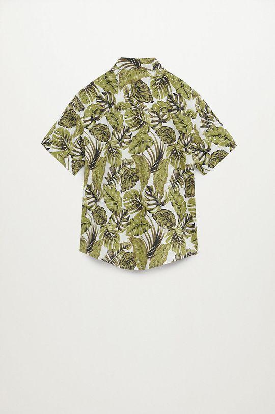 Mango Kids - Koszula bawełniana dziecięca Fiji8 110-164 cm 100 % Bawełna