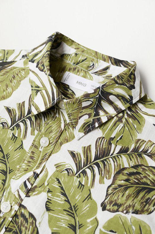 zielony Mango Kids - Koszula bawełniana dziecięca Fiji8 110-164 cm
