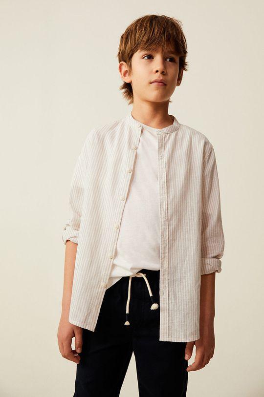 cielisty Mango Kids - Koszula dziecięca Form 110-164 cm Chłopięcy