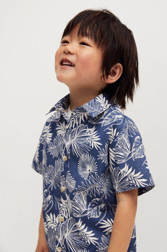 niebieski Mango Kids - Koszula dziecięca KAYB Chłopięcy