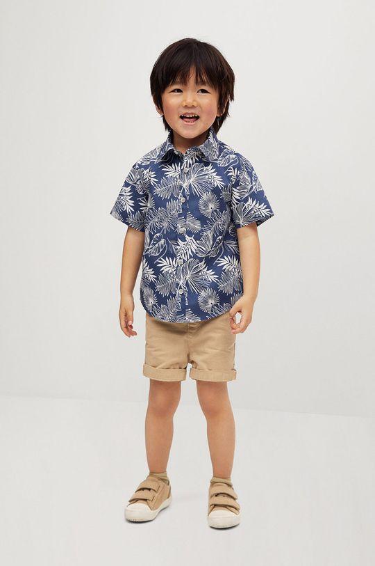Mango Kids - Koszula dziecięca KAYB niebieski
