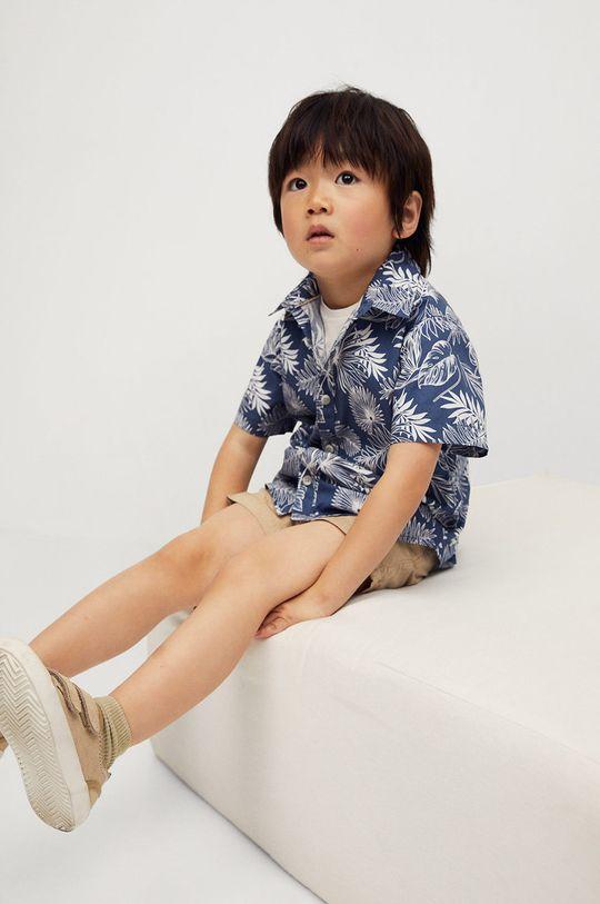 Mango Kids - Koszula dziecięca KAYB 100 % Bawełna