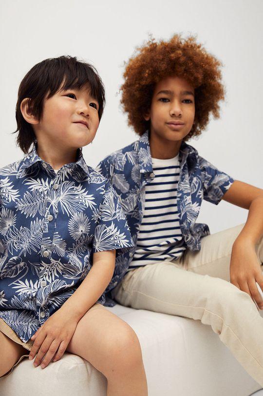 niebieski Mango Kids - Koszula dziecięca KAYB