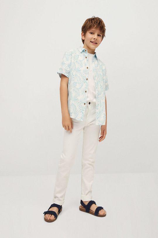 Mango Kids - Koszula dziecięca ISLA biały