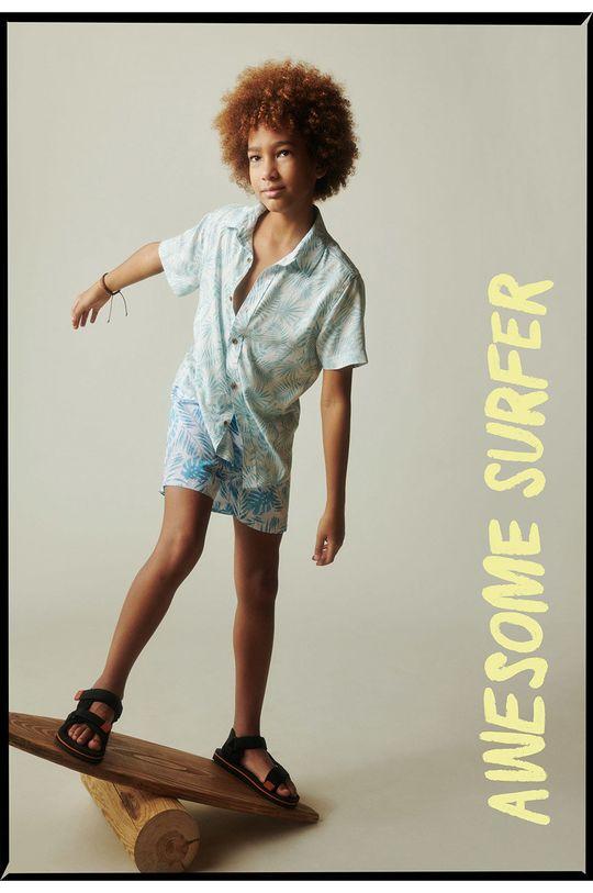 Mango Kids - Koszula dziecięca ISLA 100 % Wiskoza