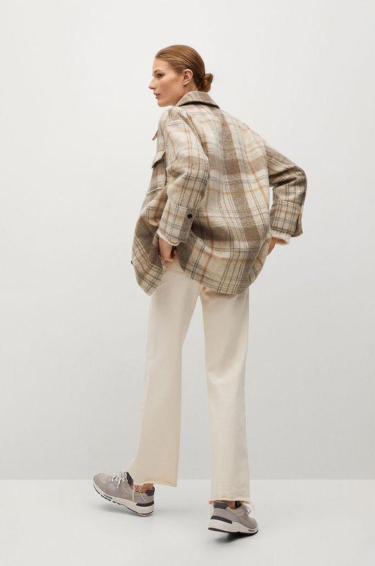 Mango - Košeľa ROIBOS  Podšívka: 20% Bavlna, 80% Polyester Základná látka: 88% Polyester, 12% Vlna