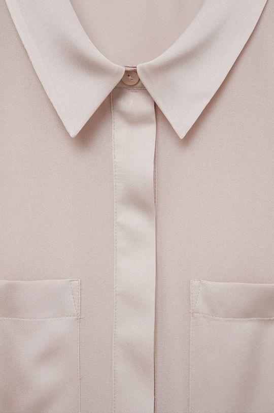 Mango - Koszula Bimao różowy