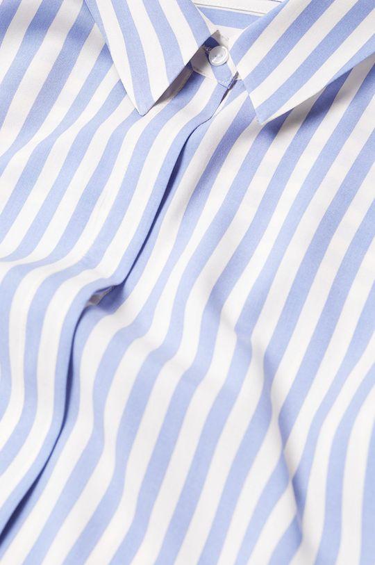 Mango - Košeľa New modrá