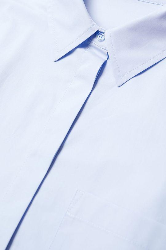Mango - Koszula bawełniana James niebieski